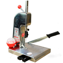 1PC manual book binding machine with knife ,financial credentials, document,archives binding machine,manual drill