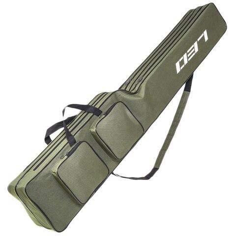 Leo Fishing Bags 130Cm Foldable Multi-Purpose Fishing Bags Fishing Rod Bags Zipped Case Fishing Tackle Bags Pouch Holder Pakistan