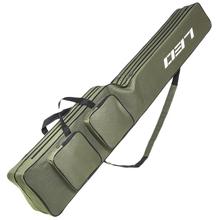Leo torby wędkarskie 130Cm składane wielofunkcyjne torby wędkarskie torby wędkarskie torby zapinane na zamek torby na sprzęt wędkarski sakiewka tanie tanio CN (pochodzenie) Other(Other) Fishing Bag