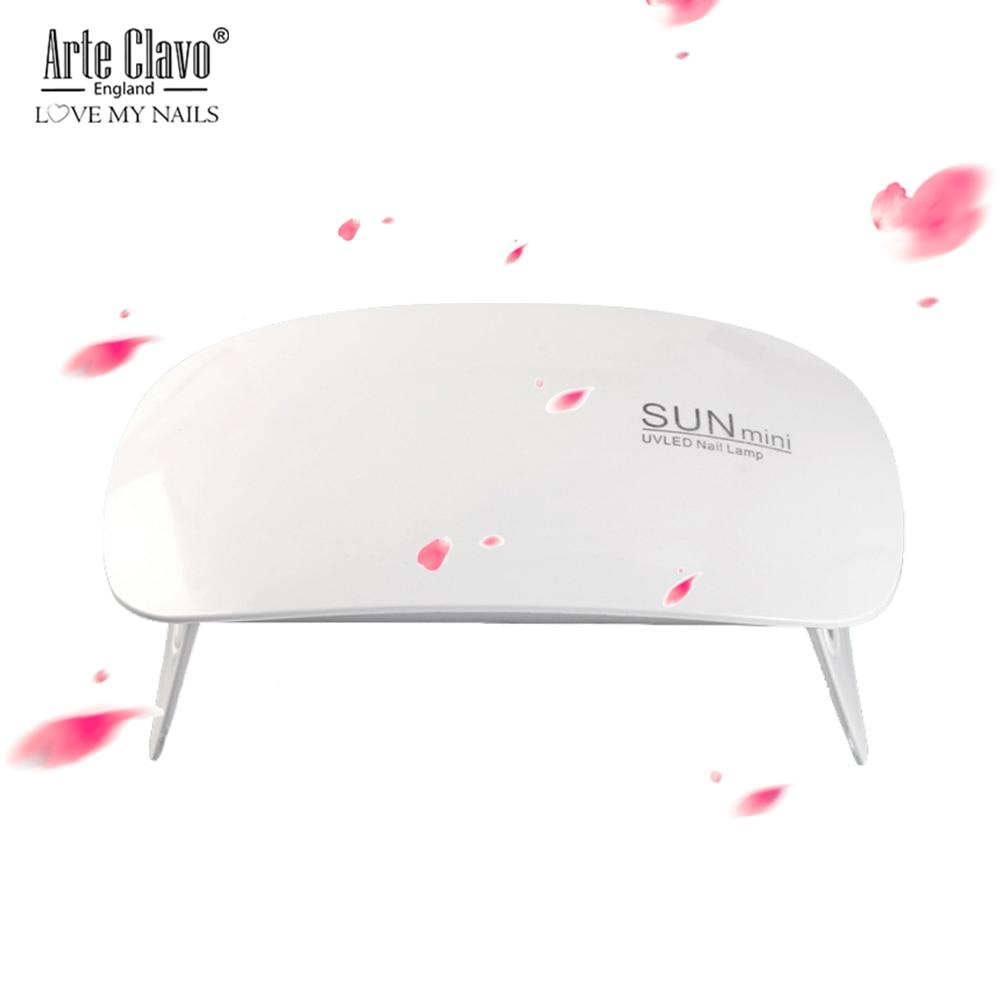 Schönheit & Gesundheit Nails Art & Werkzeuge Uv-led-lampe Nagel Trockner 6 Watt Sunmini Usb Portable Lade Für Gel Härtung Nagellack Gel Lack Nagel Lampen 45 S/60 S Timer