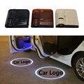 2 шт. Беспроводной Автомобиль Логотип Двери Свет LED Тень Свет Лазерный Проектор для Mercedes BMW LADA AUDI VW Форд Toyota Kia Приветствуются Свет