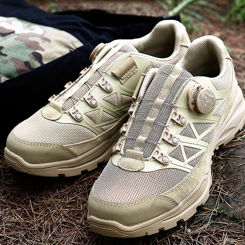 Outdoor Mens Mesh Breathable Quick Reaction Sports Shoes Spring Autumn Hiking Climbing Hunting Desert Waterproof Tactical BootsOutdoor Mens Mesh Breathable Quick Reaction Sports Shoes Spring Autumn Hiking Climbing Hunting Desert Waterproof Tactical Boots