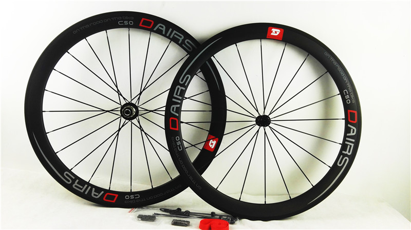 free shipping carbon wheels powerway R36 ceramics road clincher 50mmX23mm width wheels bike road wheels bicycle wheel new 2pcs 3 durable artificial gum rubber swivel wheels caster industrial castor univeral wheel silence heavy casters