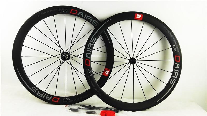 free shipping carbon wheels powerway R36 ceramics road clincher 50mmX23mm width wheels bike road wheels bicycle wheel
