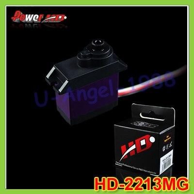 4set/lot 100% original Power HD Digital Servo 15.8g/ 4.6Kg-cm Torque HD-2213MG for trex 450 rc car boat+