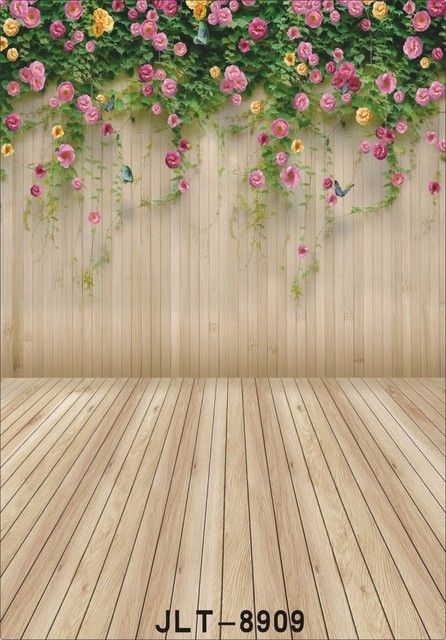 photography backgrounds for photo studio flowers wooden plank wall