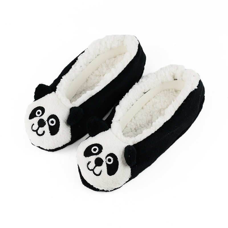 c0c3261c69d3d Cute Women Slippers Animal Winter Warm Soft Indoor Slipper Home Shoes Flats  Non-Slip Comfortable Fur Slippers Chirstmas Gift3-35
