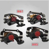 AVID BB5 BB7 MTB Mountain Bike Mechanical Disc Brakes Calipers Bicycle Parts 1 Pair Free Shipping