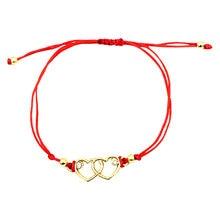 Женский веревочный плетеный браслет ручной работы в стиле ханцзин