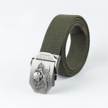 Outdoor Belt High Quality Canvas Belts For Jeans Male Luxury