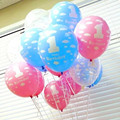 12pcs 12 inch Top-Quality latex balloons globos kids 1st happy birthday decoration ballons Wedding luftballoons party supplies