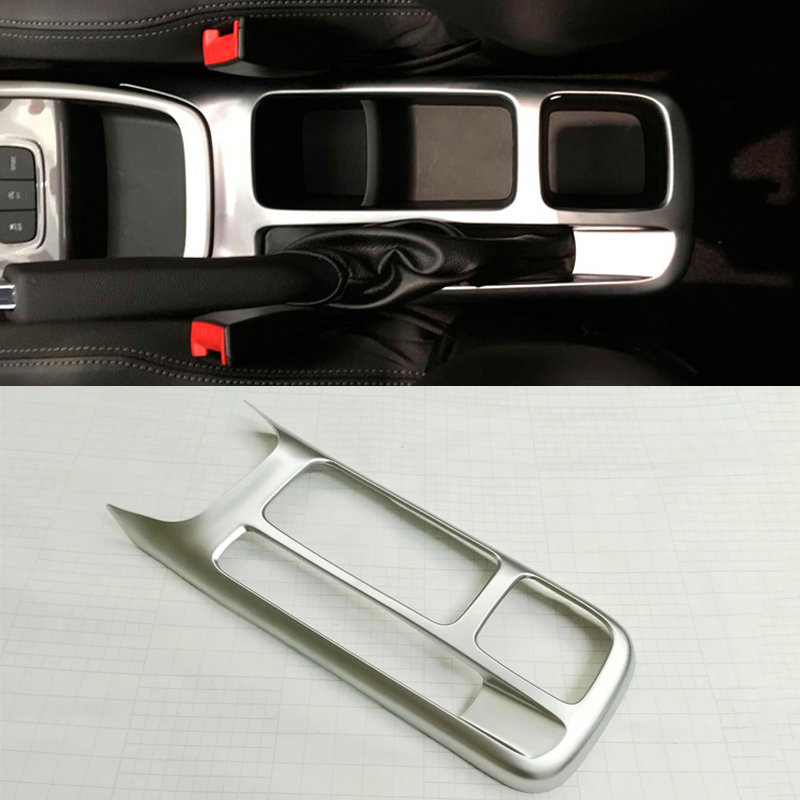 for chevrolet lova rv 2016 abs chrome matte interior car styling front cup holder panel hand. Black Bedroom Furniture Sets. Home Design Ideas