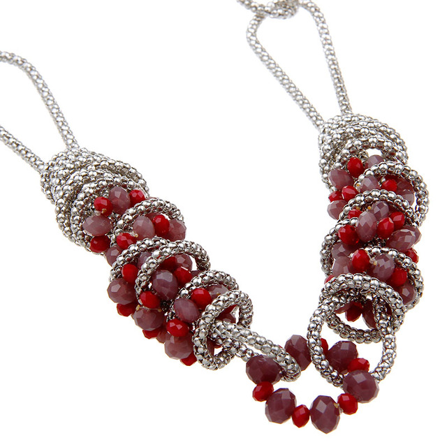 Fashion 2016 design beads necklace colliers wholesale glass beads fashion 2016 design beads necklace colliers wholesale glass beads long chain pendant necklace for women jewelry aloadofball Choice Image