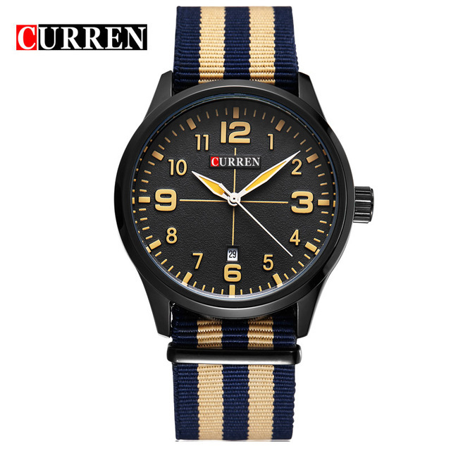 Relogio Masculino CURREN Popular Brand Watch Men Luxury Casual Male Watches Men Clock Men's Sports Quartz-Watch Men Watches 8195