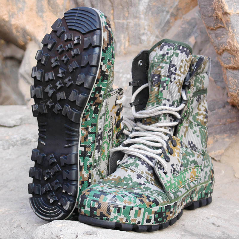 Special Troops Mountain Camouflage Tactical Boots Lightweight Jungle Camo Military Shoes Hiking Climbing Desert Sneakers military camouflage boots desert tactical hiking shoes non slip breathable boots outdoor climbing camping sneakers