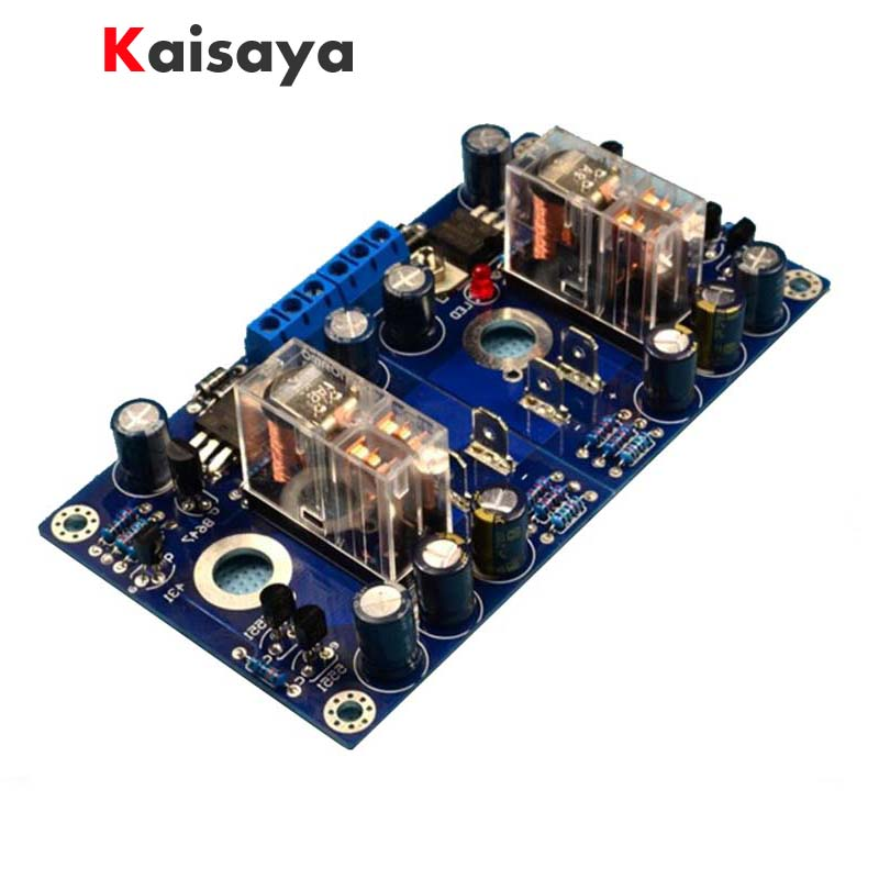 HiFi amplifier speaker protection finished board with Omron relay support BTL G1-007