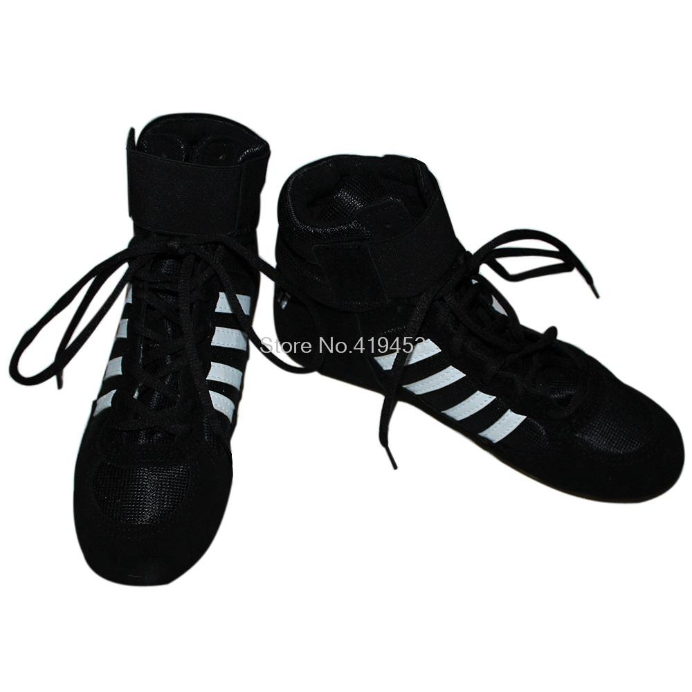 Authentic Wrestling Shoes Men High Boxing Shoes Professional Wrestling Sneakers  For Men And Women A979