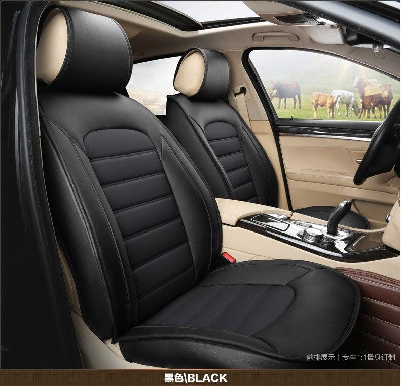 2016 Авто питания 5 шт./компл. из натуральной кожи подушку сиденья автомобиля натуральной кожи автомобилей Чехлы Подушка простые удобные