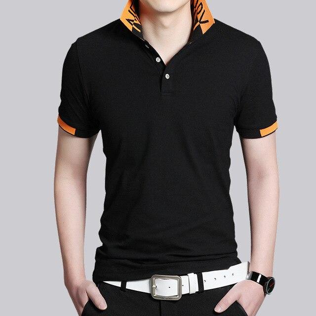 Мужчины Классические Твердые Polo Рубашки Мужские Поло Дышащий Slim Fit Рубашки Polo Homme Poloshirt