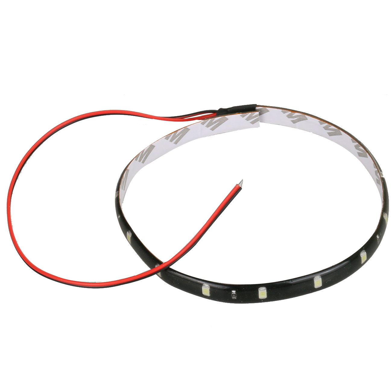 30CM Car Styling 12V 15SMD LED Auto Waterproof Flexible Light Strip for Car Motorcycle Truck Pickup Lamp