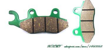 Do royal enfield 500 BulletBattle zielony Efi pojedyncze siedzenie 2009-2014 klocki hamulcowe na pigułki z przodu 2013 2012 2011 2010