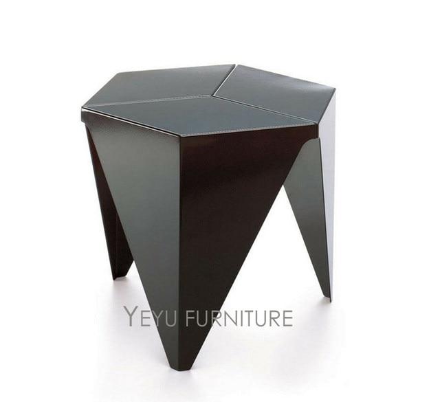 Minimalist Modern Design Plastic Low Small Side Table, Living Room End  Corner Table, Kids Table, Fashion Small Tea Table 1PC