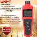 UNI-T UT372 бесконтактный Тахометр фотоэлектрический цифровой тахометр цифровой для сохранения передачи данных USB автоматическое отключение