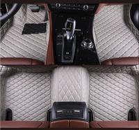 JIOYNG 3D Luxury Slush Floor Mats Foot Pad Mat For Chevrolet Captiva 2008 2009 2010 2011 2012 2013 2014 / 2015 2016 2017 2018