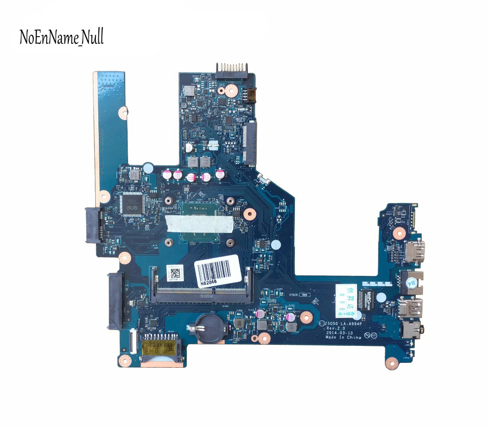 764103-501 764103-001 ZSO50 LA-A994P For HP Compaq 15 15-R 15T-R 15-s Laptop Motherboard SR1W2 N3530 CPU DDR3