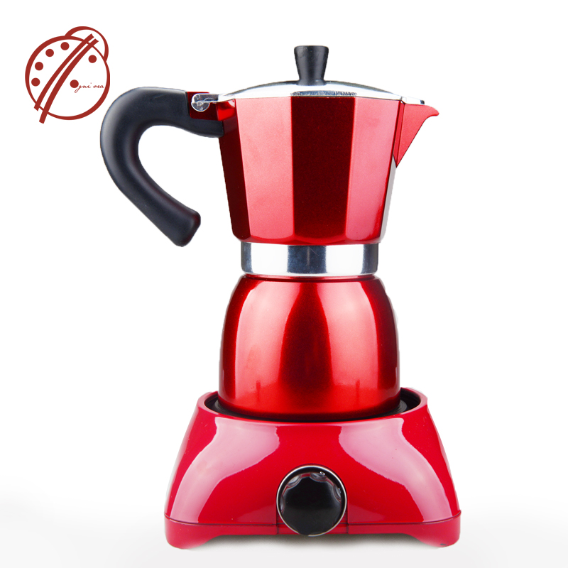 Electric Coffee Maker Filter Pot Moka Tools Red Heating Mocha Italian Espresso Machine On Aliexpress Alibaba
