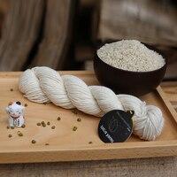 Silky Cashmere Yarn Hand Knitting Yarn Natural Yarn