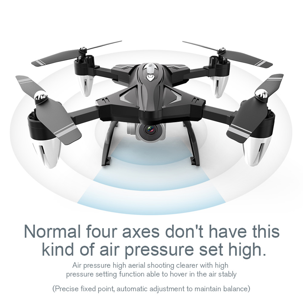 F69 Quadcopter Remote Control Training With Camera Wide Angle Drone Mini  Gift WIFI HD One Key Return High Mode Folding Holdable