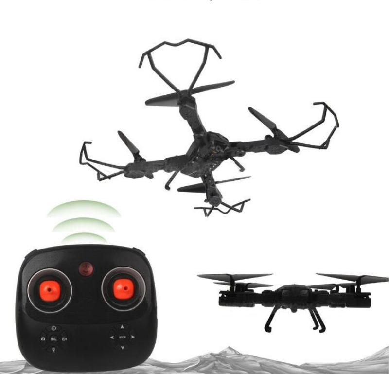 new Wifi FPV rc drone with 2MP HD Camera Foldable Drone 2.4G 6-axis Gyro Headless Mode Selfie Drone Altitude hold kid best gift jmt cg030 foldable 0 3mp camera drone wifi fpv 6 axis gyro altitude hold headless rc quadcopter mini drone app control rc dron