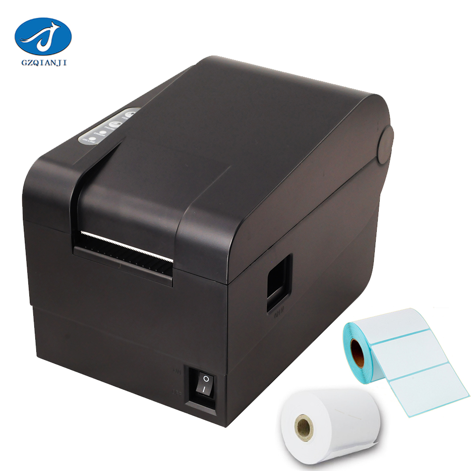 GZL2001 Thermal barcode label 2 Inch printer Sticker Paper USB Label printer Qrcode printer can print 20mm-56mm width paper stylish tree pattern photo wall sticker for livingroom bedroom decoration