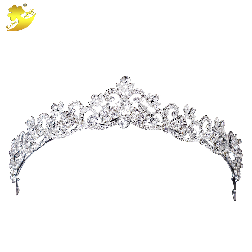 Xinyun Wedding Hair Accessories Head Jewelry Wedding Crown Tiaras Brides Hair Ornaments Hair Jewelry Headpiece Tiaras And Crowns