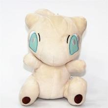Anime Pokemon Plush Doll Stuffed Toy  Cartoon Mew Character Soft Stuffed Animal Doll Mewtwo17*11cm