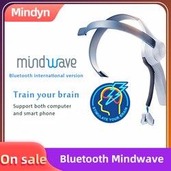 Zestaw słuchawkowy Bluetooth Mindwave mobilna elektroda sucha EEG kontroler uwagi i medytacji urządzenia Neuro Feedback dla Arduino