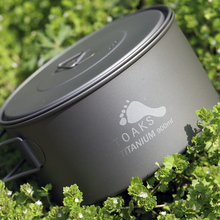 лучшая цена TOAKS 900ml Coffee Mugs Titanium Camping Cup Drinkware Titanium Mug Outdoor Pot With Cover and Folding Handle