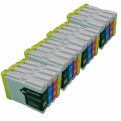 W celu uzyskania LC51/57/970 LC 51 57 970 LC51 LC57 LC970 LC 51 LC 57 LC 970 wkłady atramentowe do MFC 860CDN MFC 870CDN|Tusze do drukarek|Komputer i biuro -