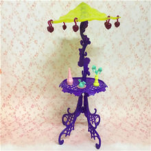 Pizies Amusement Bar Couch Chairs Table Dessert Sun Umbrella For House Furniture For Doll Accessories Kid Toy(China)