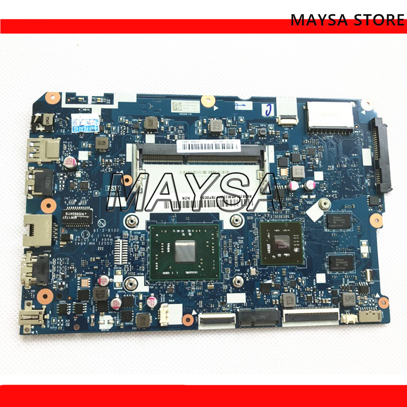 CG521 NM-A841 <font><b>motherboard</b></font> for <font><b>Lenovo</b></font> <font><b>110</b></font>-15ACL notebook <font><b>motherboard</b></font> CPU E1-7010 R5 M430 2G DDR3 100% test work image