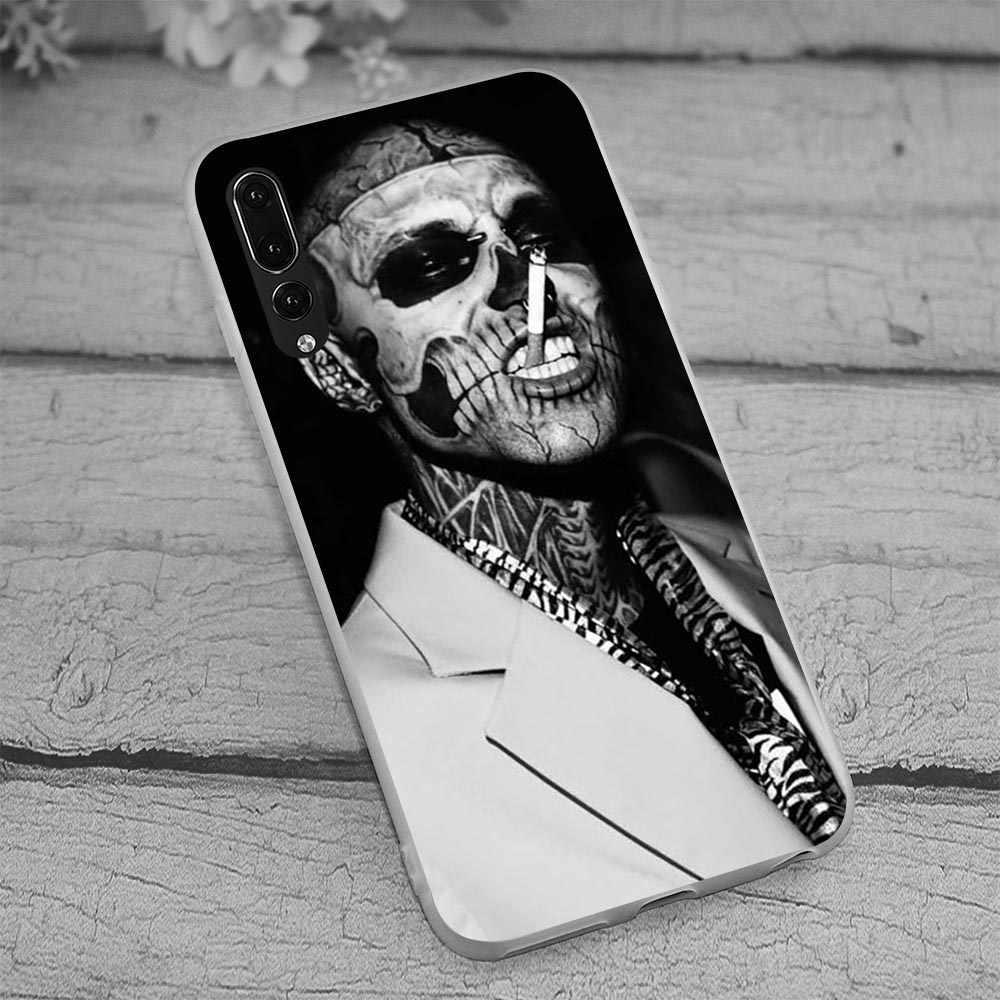 Чехол для huawei Y7 Prime 2018 Zombie boy rico genest чехол телефона Y9 Nova 3 3i 4 6A 7A X C 8 Lite honor 9 10 Note Y6