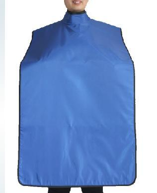 0.35mmpb ray protective dental apron with collar, x-ray protective aprons, clothing,apparel.