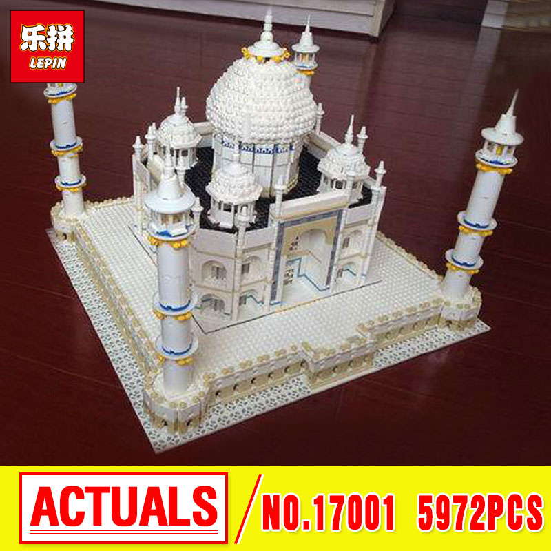 LEPIN 17001 City Street  The Tai Mahal Model Building Kits  Assembling Brick  10189 Educational Lovely Gifts Toys lepin17001 city street tai mahal model building blocks kids brick toys children christmas gift compatible 10189 educational toys