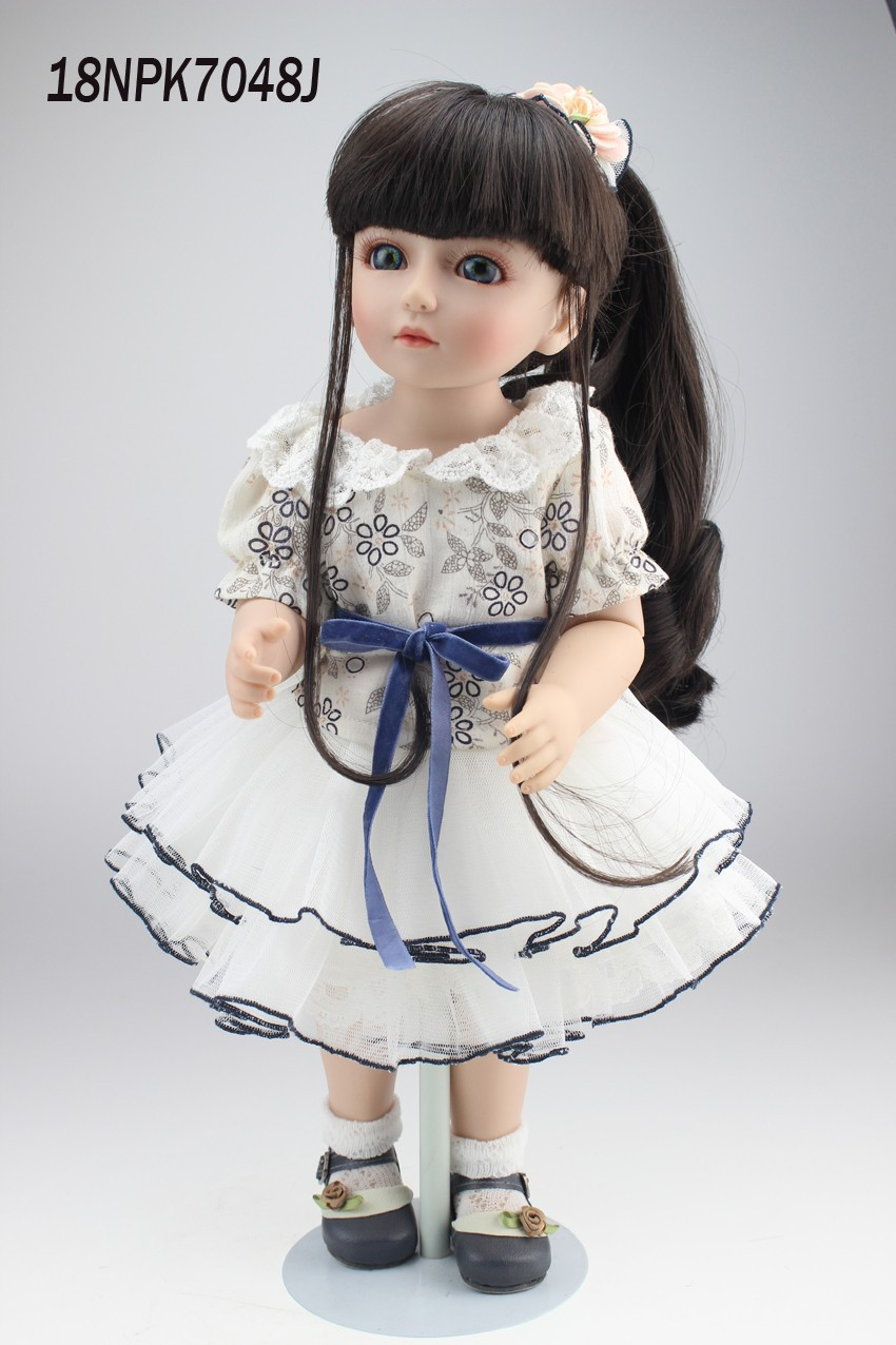 beautiful SD/BJD doll 18inch top quality handmade doll poseable with joints beautiful darkness