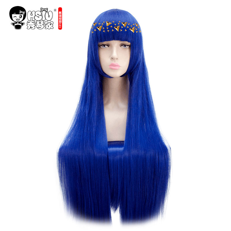 QC HSIU Hoseki No Kuni Cosplay Wig Lapis Lazuli Yellow Diamond Amethyst Land Of The Lustrous Costume Play Adult Anime Hair Wigs