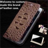 JC04 Genuine Leather Flip Case For LG Stylo 4 Phone Case For LG Stylo 4 Leather Cover free shipping