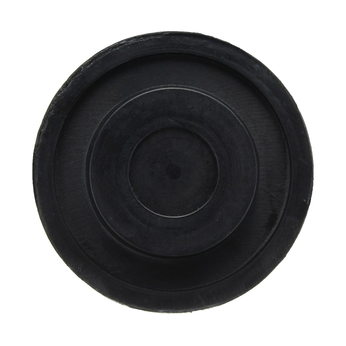 2pcs Car Anti-Slip Slotted Frame Rail Floor Jack Disk Rubber Pad for Pinch Weld Side Jack Pad