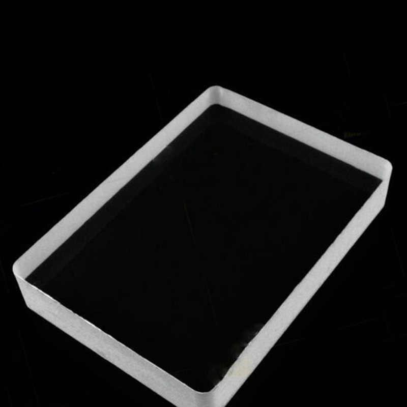 2018 kreative Acryl Unterhaltung Bord Spiele Close-Up Zaubertricks Top Klar Kristall Eis Block Glas Omni Deck Spielen karten