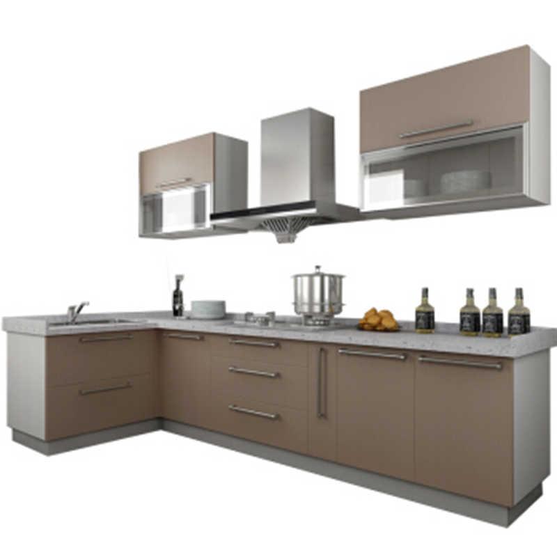 wholesale sri lanka L shape readymade kitchen cabinets ...